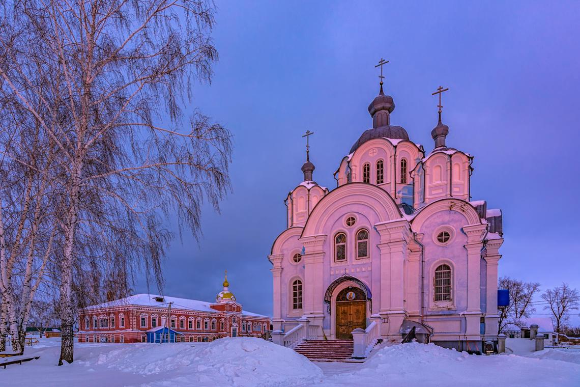 сухотинский знаменский женский монастырь фото относится семейству